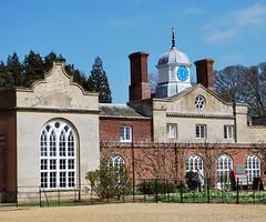 Felbrigg Hall - a Norfolk Gem (unclebobjim) Tags: felbrigghall nationaltrust norfolk stephenfry clock cupola oniondome chimneys oriole norman gothic architecture