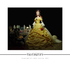 Beauty and the Beast (thitipatify) Tags: silkstone studio sweet gown hollywood doll diorama dress model holidays vintage valentine toy retro best robertbest quality royalty barbie glamour glam magazine love