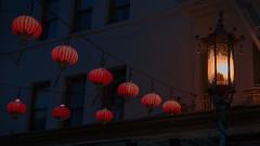 Lanterns of Chinatown (Greg Holtfreter) Tags: chinatown lanterns lights red sanfrancisco a7rii sony lumenzia night california cpmg1116sa
