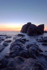 Moonscape!? (Sas919) Tags: landscape sunset sea longexposition hdr sicily italy tramonto mare nature canon