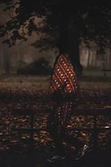 Autumn (Enricodot ) Tags: enricodot autumn cold freddo people garden giardini park parco tree trees blanket coperta leaf leaves