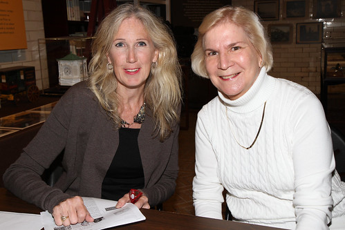 Suzanne Clary and Betsy White