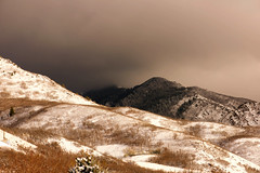 Head in the Clouds (Karen McQuilkin) Tags: winter wasatch utah karenmcquilkin headintheclouds snow mountains ogdenutah otown