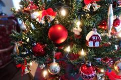 Happy first of December . . (JLS Photography - Alaska) Tags: cabin trees christmas christmastree christmasdecorations ornaments jlsphotographyalaska holidays holiday indoor celebration
