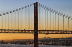 Lisbon - 43 (orciel95) Tags: panasonic lumix dmc tz100 lisbon lisboa lisbonne ville town port harbor bateau boat sea water architecture eau front de mer extrieur horizon pont bridge du 25 avril april