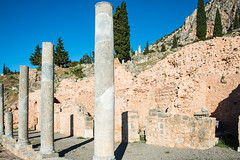 Delphi - Agora 2 (Le Monde1) Tags: greece greek delphi ancient ruins archaeological lemonde1 nikon d800e zeus god navel apollo excavations sanctuary roman agora market columns pleistos river valley pythian games sacredway temples parnassus unesco worldheritagesite