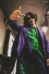 Subway Joker   #joker #cosplaying #cosplay #subway #undergraund #barcelona #bcn #modelling #model (houmycoollymx) Tags: modelling cosplay bcn cosplaying subway barcelona joker undergraund model
