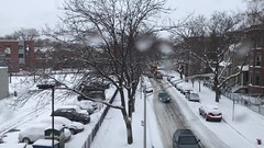 trains-eye view of post-snowstorm Chicago (KevinIrvineChi) Tags: winter 2017 cta ctabrownline chicago chicagoist snow snowy snowcovered snowstorm snowyalley snowing white tracks train railroad rail stations