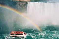 Niagara Falls with Rainbow 1 (chuckthewriter) Tags: niagarafalls rainbow