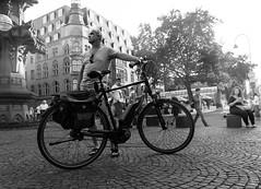 "STORIES. The bike (matoses) Tags: life street light shadow white man black art blancoynegro blanco luz valencia bike grey gris blackwhite calle nikon arte y negro cologne sombra story vida bici stories hombre ""black white"" ""blanco negro"" matoses d5300"