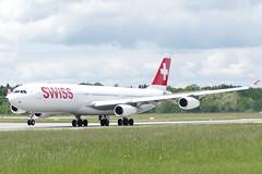 Airbus A340 313 Swiss HB-JMK ZRH Zurich Airport Switzerland 20150517 (roli_b) Tags: airplane switzerland airport swiss aircraft zurich aeroporto airbus flughafen aviao flugzeug aereo a340 starting zrh zurigo aeroplano a340313 hbjmk