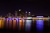 Streaks of Color (EL_KAB0NG) Tags: longexposure urban canon tampa downtown canonef1740mmf4lusm nightphotos hillsboroughriver hillsboroughcounty canoneos50d