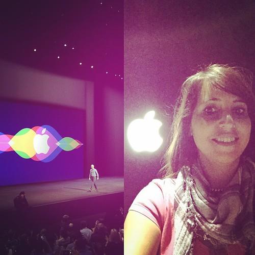 La locura del día Apple. Vamos a tener lluvia de gadgets este otoño. #appleevent #apple #timcook