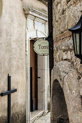 Torre di Castelvetere (LuxTDG) Tags: street door old italy house tower home church window lamp river casa italia village cross stones fiume main arc chiesa finestra doorway pietre porta napoli naples calore arco antico borgo croce lampione entrace portone avellino