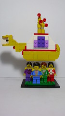Yellow Submarine (andresignatius) Tags: yellow club hearts lego band submarine beatles peppers lonely sgt the