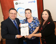 Maria McIvor from Townsend Enterprise Park at the WorldHost Celebration and Certificate Presentation