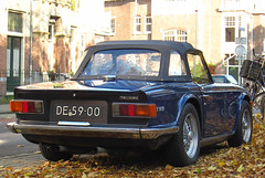 1971 Triumph TR6 2.5 (rvandermaar) Tags: 1971 25 triumph import tr6 triumphtr6 sidecode1 de5900