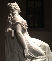Cleopatra by Thomas Ridgeway Gould - 1873 (mademoisellelapiquante) Tags: sculpture art statue boston museum mfa fineart newengland bostonma cleopatra arthistory museumoffineartsboston