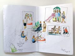 """""""Thumbnails"""" en el parque (Diego Prez Lpez) Tags: parque thumbnails acuarelas errores"""