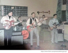 chord-a-roys at st james basement 1960s (albany group archive) Tags: music ny st rock matt james basement band jim hyde albany 1960s bernie murphy rocco vinnie combo chordaroys mulleda franconere