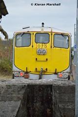 075 at Portarlington, 31/10/15 (hurricanemk1c) Tags: irish train gm rail railway trains railways irishrail generalmotors portarlington 075 2015 emd 071 iarnród éireann iarnródéireann