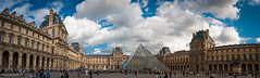 The Louvre (MarcoIE) Tags: travel summer urban paris france color art history classic tourism colors architecture wonderful french see big ancient education ruins europe places romance entertainment smell learning taste marble treasures elegance worthy visualpleasure aroot