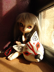 Kitsune (nezumi.freak) Tags: fox pullip zorro kitsune espritu tamashi customdoll eyechips nezumi amarri