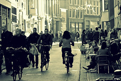 All those serious faces.... (eleni m (sorry if I can't keep up)) Tags: street city houses people backlight canon faces serious terrace outdoor streetphotography bikes shops terras fietsen stad tegenlicht huizen straat mensen winkels serieus gezichten straatfotografie
