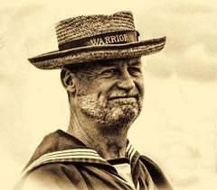 Sailor (Basingstoke Hugh) Tags: portrait sailor hmswarrior portsmouth