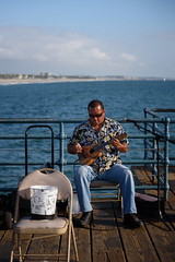 Santa Monica (briantolin) Tags: santamonica santamonicapier nikond750 losangeles la streetphotography ukulele musician californiacoastline