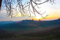 Moncalvo, Monferrato (g.bardella) Tags: sunset italy beautiful landscape italia tramonto hill piemonte inverno atmosfera piedmont paesaggio controluce colline romantica monferrato bellissimo moncalvo