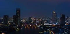 Thailand - 11 (Berlin inFocus) Tags: thailand bangkok bluehour chaophrayariver statetower