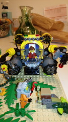 Under the Sea (FrenchFigaro) Tags: city lego submarine minifigs minifigures