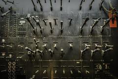 LEVERAGE (akahawkeyefan) Tags: fresno controls levers warnorstheater davemeeyr