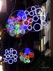 Luces Navideas 2015. Calle del Prncipe (Madrid) (Juan Alcor) Tags: madrid navidad luces calle nocturno principe lucesnavideas