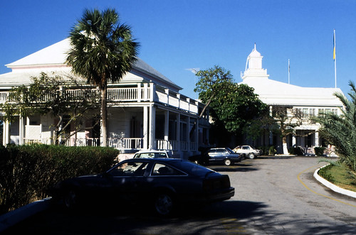 """Bahamas 1988 (202) New Providence:  Government House, Nassau • <a style=""""font-size:0.8em;"""" href=""""http://www.flickr.com/photos/69570948@N04/23649881250/"""" target=""""_blank"""">View on Flickr</a>"""