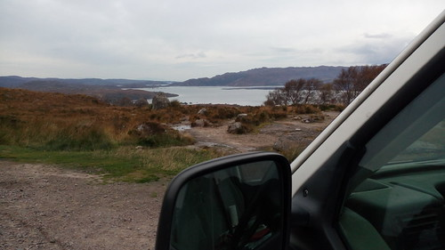 Garée devant les Summer Isles, Écosse