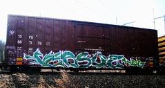 versuz KOG (timetomakethepasta) Tags: train graffiti boxcar freight kog versuz tofx