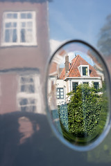 Architecture reflections @ Gouda (PaulHoo) Tags: gouda holland netherlands fuji x70 city urban 2016 building architecture reflection abstract color house pattern