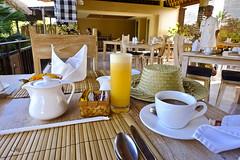 Breakfast drinks (A. Wee) Tags: sankara resort hotel  ubud bali  indonesia
