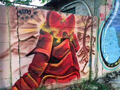 (JotaCePe) Tags: jcp jotacepe bardo graffiti stormtrooper wu tang clan samurai neuquen psa patagoniastreetart character