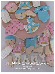 oh baby (The Whole Cake and Caboodle ( lisa )) Tags: babyshower baby whangarei thewholecakeandcaboodle caboodle cookies cookie children