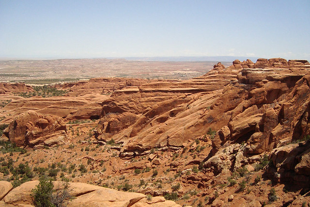 View from the trail to Devil's Garden