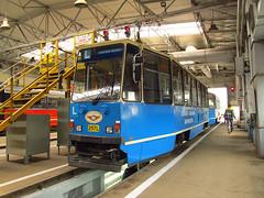 Konstal 105Na, #257L, Tramwaje lskie (transport131) Tags: tram tramwaj bdzin t kzk gop konstal 105na zajezdnia depot