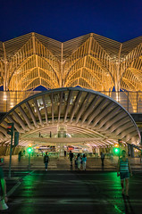 Lisbon Oriente Station 662 (_Rjc9666_) Tags: arquitectura bluehours colors garedooriente lisboa lisbon lisbonne night nightscape nightshot nikkor35mm18 nikond5100 people pessoas portugal sky street urbanphotography ruijorge9666 pt 1548 758