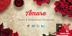 Preview Amare - Valentine Email and Newsletter Template TFx Everard Vinnie (JameBridges) Tags: campaignmonitortemplates creativetemplates emailtemplates emailtemplatetemplates mailchimptemplates moderntemplates multipurpousetemplates mymailtemplates newslettertemplates newslettertemplatetemplates responsivetemplates shopingtemplates stampreadytemplates valentinetemplates valentinesday