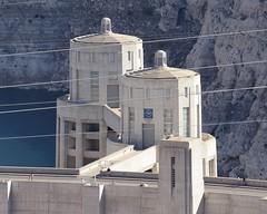 2016-10-11 Hoover Dam 5 (JanetandPhil) Tags: nikon nikkor d800 70200mmf28 20160910coloradoutahnevadaarizonavacation mikeocallaghanpattillmanmemorialbridge ushighway93 bouldercityut boulderdam hooverdam usroute93 intaketowers arizona