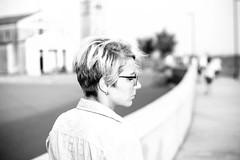 IMG_0045 (MartinVlcek) Tags: women glasses beach short hair caorle