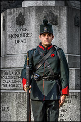 QOR Honour Guard (Rodrick Dale) Tags: honour guard queens own rifles toronto ontario canada remembrance day uniform soldier st pauls poppy