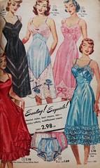 Alden's Catalog - Ladies Slips & Panties (Knickers) 1952 (lynn_morton3500) Tags: panties knickers fullslip slip underwear ladieswear lady ladies vintagefashion fashion vintage retro 1950s 1952